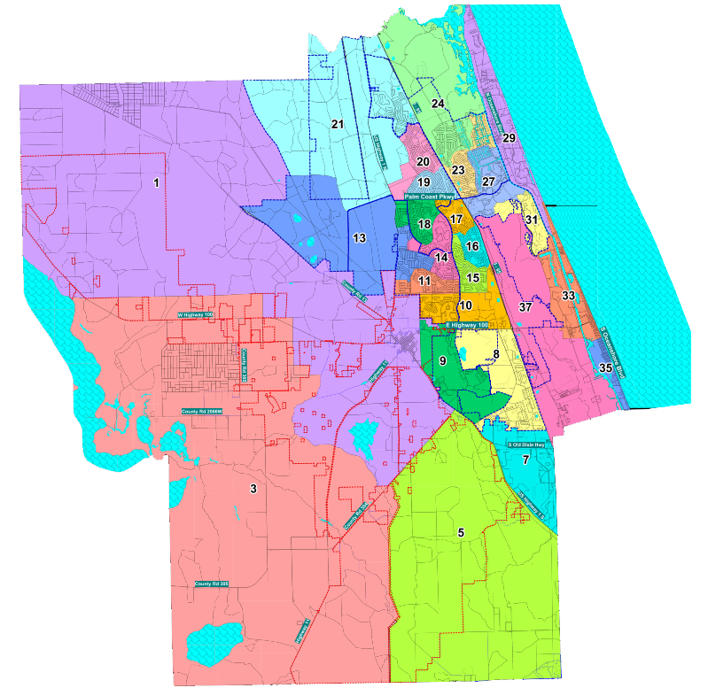 District & Precinct Maps