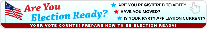 Are You Election Ready? Be Election Ready in 2016!