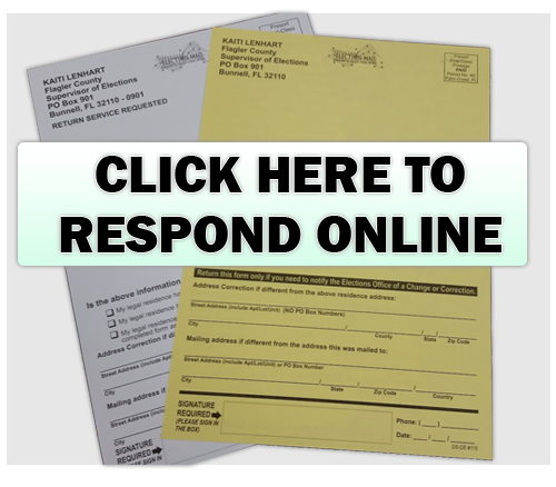 Respond to address postcard online
