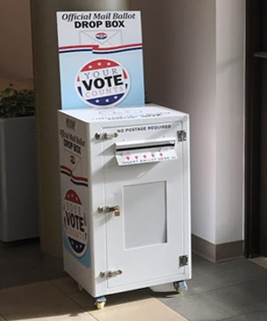 Early Voting Drop Box