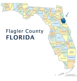 Flagler Map